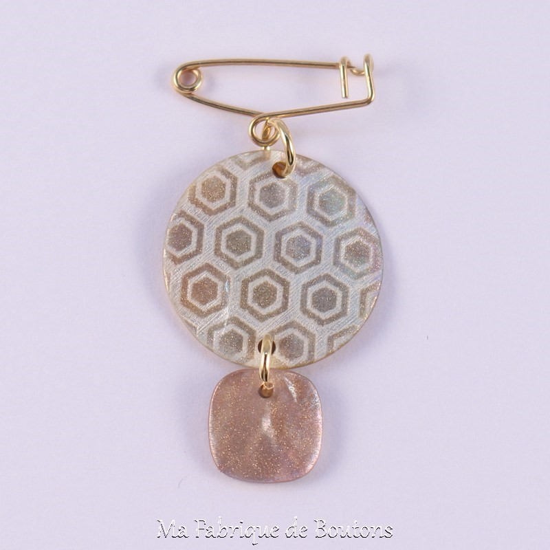 Carole Mother of Pearl Brooch