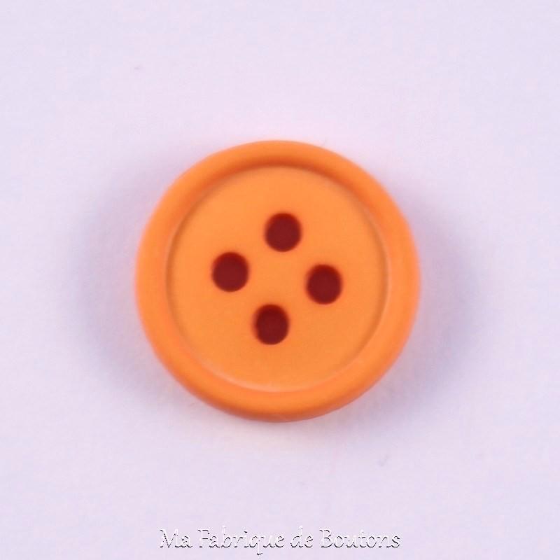 orange Fancy Button