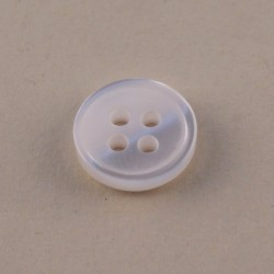 Pearly Haberdashery Button