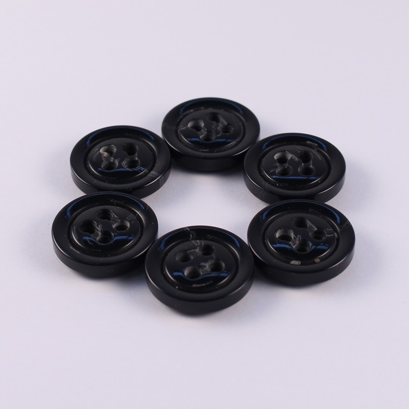 Set of 6 buttons Bergamote