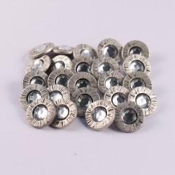 Lot de 24 boutons Berardine