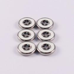 Lot de 6 boutons Benedetta