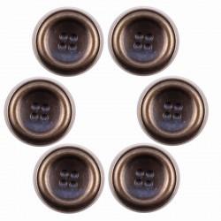 Lot de 6 boutons Aël