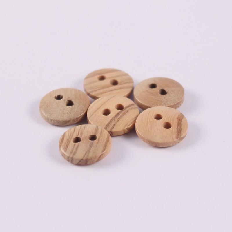 Lot de 6 boutons Bois Berthold