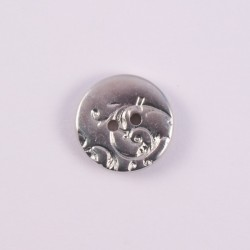 Knob ABS Metal silver Bertram