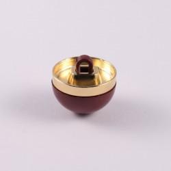 Half-sphere button