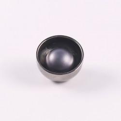 Silver Metal Button