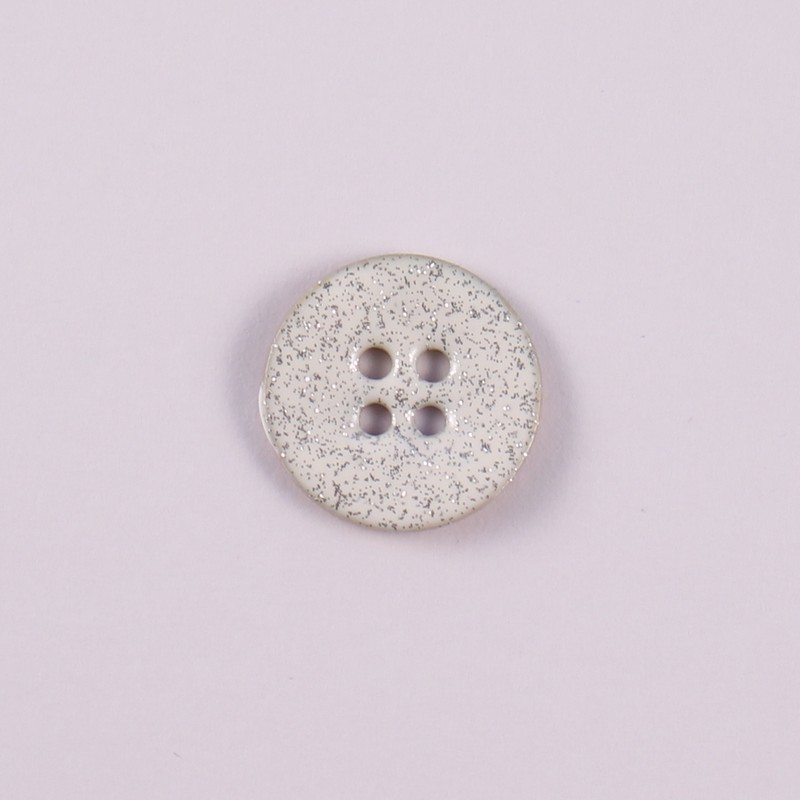 Mother of Pearl Glitter Button Bonnie
