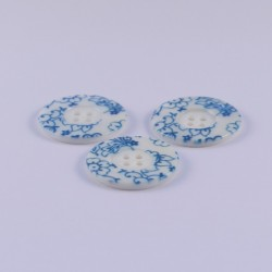 Lot de 3 Boutons Nacre Damaris 25mm