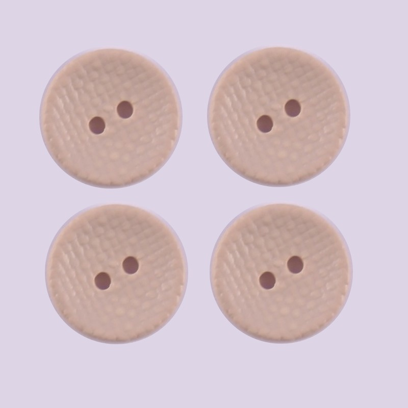Lot de 4 Boutons Polyester Darcy
