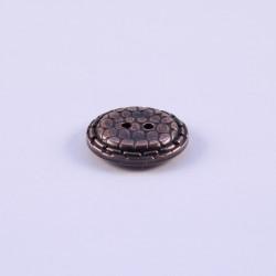 Bouton ABS Metal Dauphine