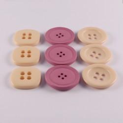 Assortment of big buttons 31mm