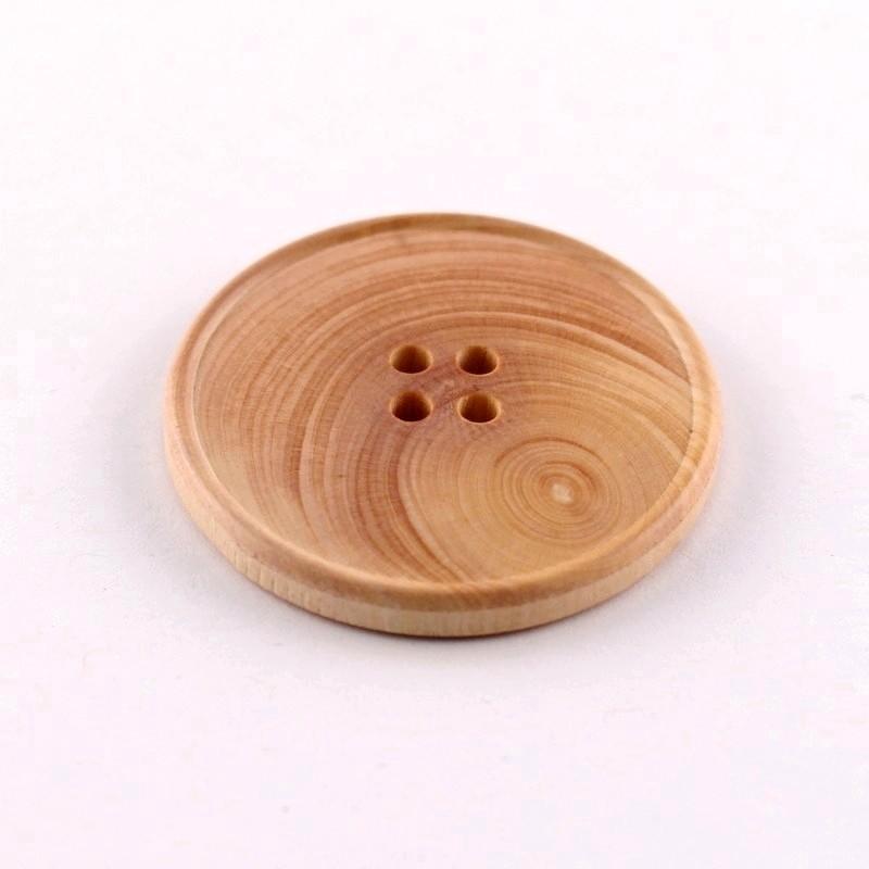 Wood Button Anton