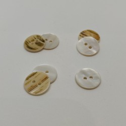 Set of 12 Mother of Pearl Buttons
