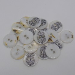 Tube of 25 Elida buttons