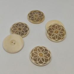 Natural Button Ghislain