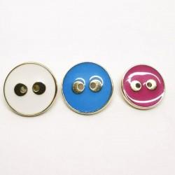 ABS Metal Button Gina