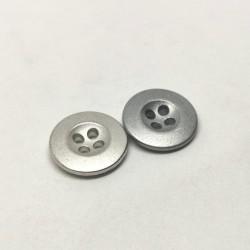 Hollow metal button Gontran