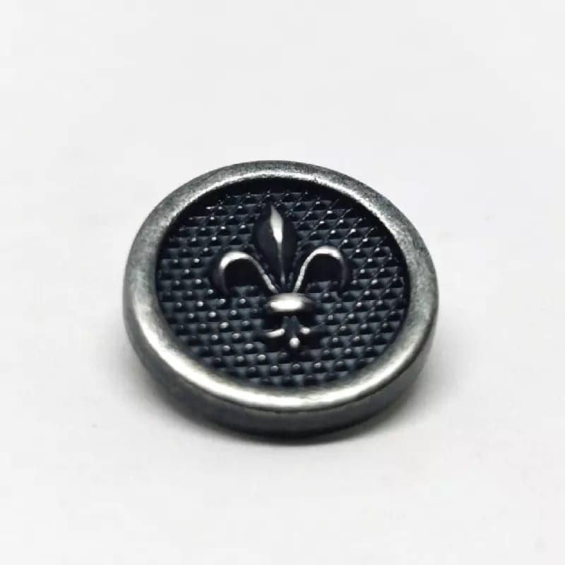Metal Button Gouziern