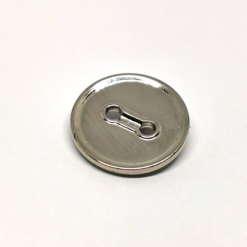 Bouton ABS metal 15mm Gonzalve