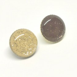 Round sequined button Graciela