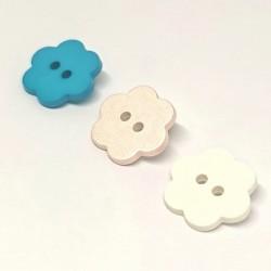 children's flower button