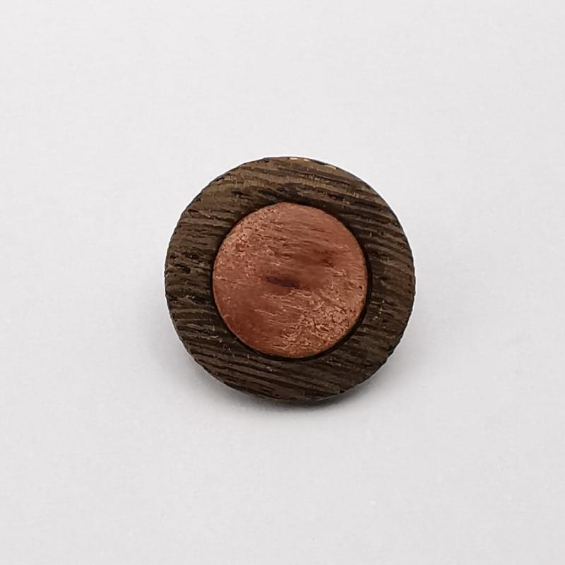 Wood Button Guilhemine