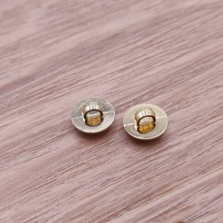 Bouton couture abs metal Gustave