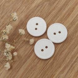 Bouton paillettes blanc Gwanaëlle