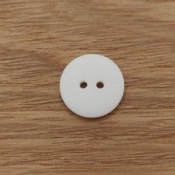 White glitter button
