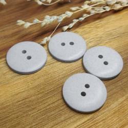 Recycled hemp button