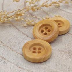 Wood Button Hélisende