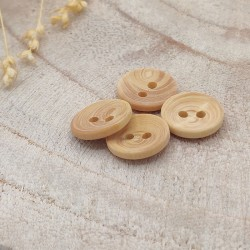 wood button 2 holes
