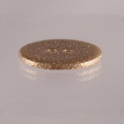 bouton nacre paillettes dorées