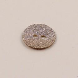 Adam Mother of Pearl Glitter Button