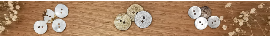 Mother of Pearl Buttons - Ma Fabrique de Boutons