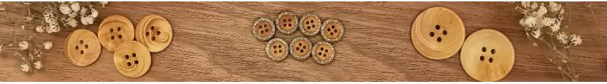 Wood Button - Ma Fabrique de Boutons